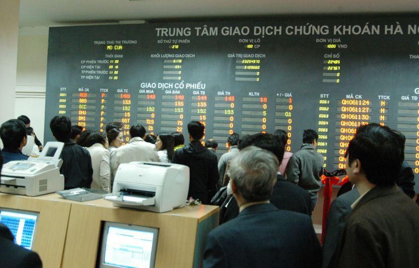 Lịch sử thị trường chứng khoán Việt Nam